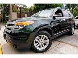 2013 Green Gem Metallic Ford Explorer XLT 4WD #94394931