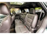 2013 Ford Explorer XLT 4WD Rear Seat