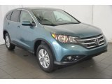 2014 Mountain Air Metallic Honda CR-V EX AWD #94394667
