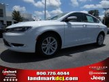 2015 Bright White Chrysler 200 Limited #94394776