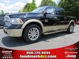 2014 Black Ram 1500 Laramie Longhorn Crew Cab 4x4 #94394775