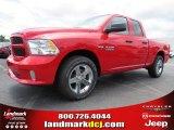 2014 Flame Red Ram 1500 Express Quad Cab #94394774