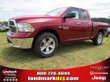 2014 Deep Cherry Red Crystal Pearl Ram 1500 SLT Quad Cab #94394773