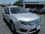 2011 Ingot Silver Metallic Ford Fusion S #94394695