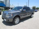 2014 Sterling Grey Ford F150 Platinum SuperCrew 4x4 #94394692