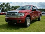 2013 Ruby Red Metallic Ford F150 Platinum SuperCrew 4x4 #94394967