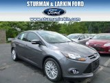 2014 Sterling Gray Ford Focus Titanium Sedan #94428420