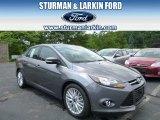 2014 Sterling Gray Ford Focus Titanium Sedan #94428420