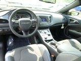 2015 Chrysler 200 S Black Interior