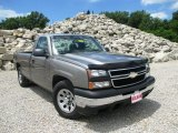 2006 Graystone Metallic Chevrolet Silverado 1500 LS Regular Cab #94428748