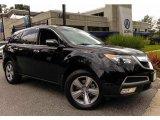 2011 Crystal Black Pearl Acura MDX Technology #94461546