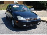 2003 Pitch Black Ford Focus ZX3 Coupe #94461681