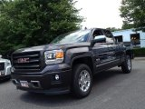 2014 Iridium Metallic GMC Sierra 1500 SLE Double Cab 4x4 #94461500