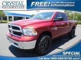 2014 Deep Cherry Red Crystal Pearl Ram 1500 Big Horn Quad Cab 4x4 #94474693