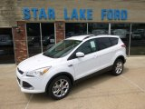 2014 Oxford White Ford Escape SE 2.0L EcoBoost 4WD #94486339