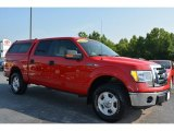 2010 Vermillion Red Ford F150 XLT SuperCrew 4x4 #94486186