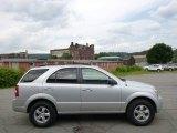 2009 Bright Silver Kia Sorento LX 4x4 #94486177