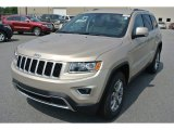 2014 Cashmere Pearl Jeep Grand Cherokee Limited #94486305