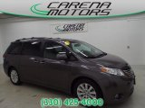 2011 Predawn Gray Mica Toyota Sienna Limited #94515768
