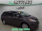 2011 Predawn Gray Mica Toyota Sienna Limited #94515768