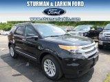 2014 Tuxedo Black Ford Explorer XLT 4WD #94515417