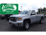 2014 Quicksilver Metallic GMC Sierra 1500 SLE Regular Cab 4x4 #94515694