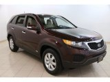 2012 Dark Cherry Kia Sorento LX AWD #94515622