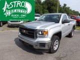 2014 Quicksilver Metallic GMC Sierra 1500 Regular Cab 4x4 #94515693