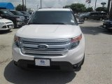 2014 White Platinum Ford Explorer XLT #94515311