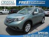 2012 Opal Sage Metallic Honda CR-V EX-L #94515680