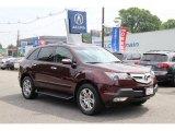 2008 Dark Cherry Pearl Acura MDX Technology #94515305