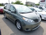 2012 Cypress Green Pearl Toyota Sienna LE #94515744
