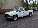 2006 Summit White Chevrolet Silverado 1500 Work Truck Regular Cab #9452302