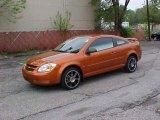 2007 Sunburst Orange Metallic Chevrolet Cobalt LS Coupe #9452323
