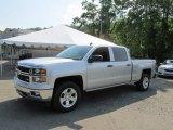 2014 Silver Ice Metallic Chevrolet Silverado 1500 LT Crew Cab 4x4 #94515368