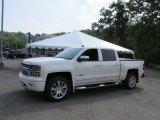 2014 White Diamond Tricoat Chevrolet Silverado 1500 High Country Crew Cab 4x4 #94515366