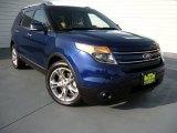 2013 Deep Impact Blue Metallic Ford Explorer Limited #94515526