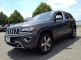 2014 Granite Crystal Metallic Jeep Grand Cherokee Overland 4x4 #94515240