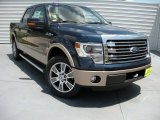 2014 Blue Jeans Ford F150 Lariat SuperCrew #94515520