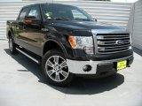 2014 Tuxedo Black Ford F150 Lariat SuperCrew 4x4 #94515517