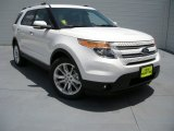 2014 White Platinum Ford Explorer Limited #94515513