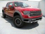 2014 Ruby Red Ford F150 SVT Raptor SuperCrew 4x4 #94515508