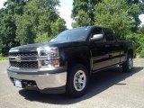 2014 Black Chevrolet Silverado 1500 WT Double Cab 4x4 #94553050