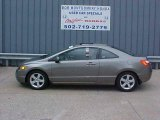 2006 Galaxy Gray Metallic Honda Civic EX Coupe #9452396