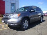 2011 Polished Metal Metallic Honda CR-V EX 4WD #94553173