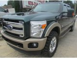 2012 Green Gem Metallic Ford F250 Super Duty King Ranch Crew Cab 4x4 #94553240