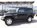 2011 Black Jeep Wrangler Sport 4x4 #94553162