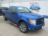 2014 Blue Flame Ford F150 STX SuperCab #94552915