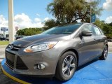 2014 Sterling Gray Ford Focus SE Hatchback #94552993