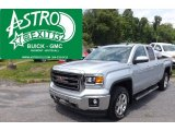 2014 Quicksilver Metallic GMC Sierra 1500 SLT Double Cab 4x4 #94553307